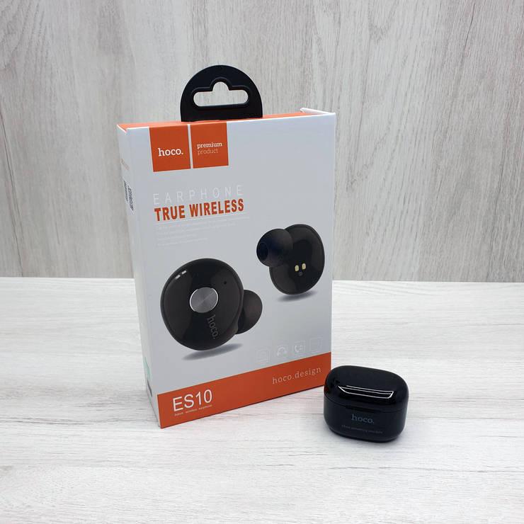 Бездротові Навушники HOCO ES10 Earphones (чорні), фото 2
