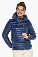 Женская куртка сапфировая комфортная осенне-весенняя модель 64150
