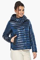 Женская куртка осенне-весенняя фирменная цвет ниагара модель 64150