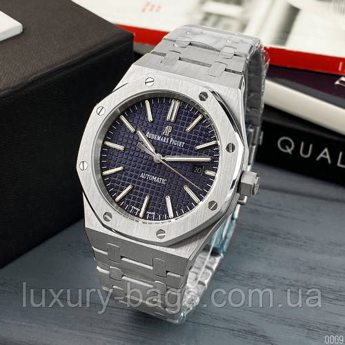 Часы наручные Audemars Piguet Royal Oak 0788 Silver-Blue