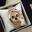 Часы наручные Rolex Daytona Metal Gold-Black-Rose, фото 10