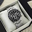 Часы наручные Rolex Daytona Metal Silver-Black-Black, фото 5