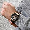 Часы наручные Hubl0t Chronograph Ceramica Black-Gold-Black 5829, фото 4