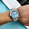 Годинники наручні Rolex Day-Date Silver-Blue, фото 2