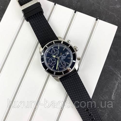 Часы наручные Breitling Black-Silver