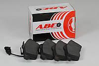Гальмівні колодки передні з датчиком (ATE, R15, 156.4x68.5x19.5mm) VW T4 96-03 C1W060ABE ABE (Польща)