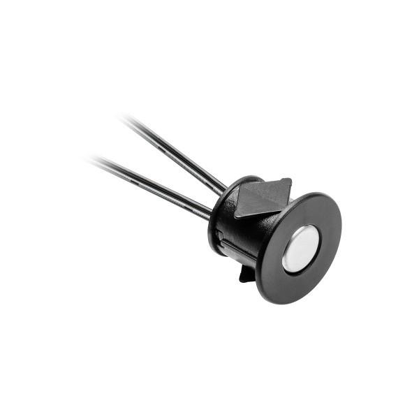Сенсорний датчик 12V, 24W, з функцією регулювання яскравості, чорний