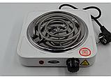 Электроплита 1 комфорка спираль WimpeX WX-100B-HP, фото 3