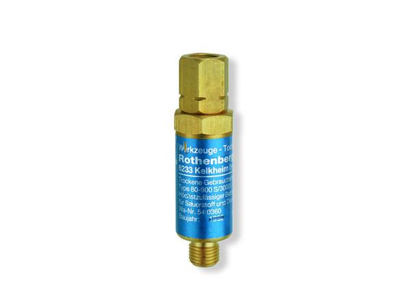 Клапан від зворотного удару з різьбою (кисень) ROTHENBERGER