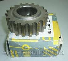 Шестерня коленвала привода ГРМ Logan/MCV/Sandero/Duster 1.4/.1.6 Renault Original