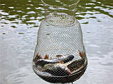 Садок рибальський металевий круглий 45см діаметр, фото 2