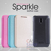 Кожаный чехол Nillkin Sparkle Series для HTC Desire 210