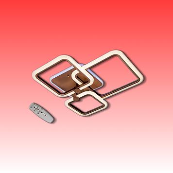 Люстра MX2503/1+1+1CF LED 3color dimmer (Коричневый) 65W