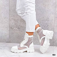 Ботинки женские сетка