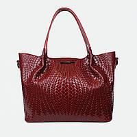 Модная женская большая классическая сумка 8622 красная
