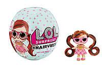 Модные Прически LOL Surprise S6 W1 Hairvibes 564744-W1 Оригинал Игровой набор с куклой со сменными париками
