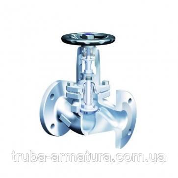 Клапан запірний фланцевий ARI-FABA-Plus 35.046 Ду 100 (сильфон), фото 2
