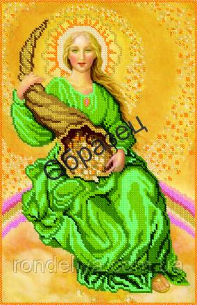 Схема для вишивки бісером «Богиня рогу достатку»