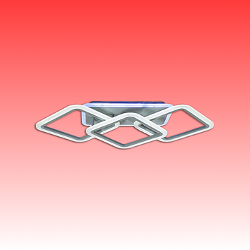 Люстра MX2400/2+1LC BK LED 3color dimmer (Черный) 70W