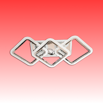 Люстра MX2400/2+1LC G LED 3color dimmer (Золото) 70W