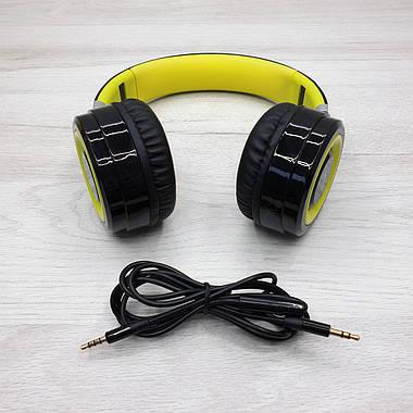Дротові навушники MTK SUPER BASS K3451 (жовті), фото 3