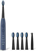 Электрическая зубная щетка Seago SG-575 Blue Звуковая, фото 1