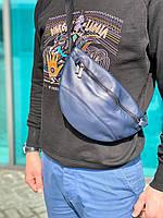 Поясная сумка кожаная (унисекс)