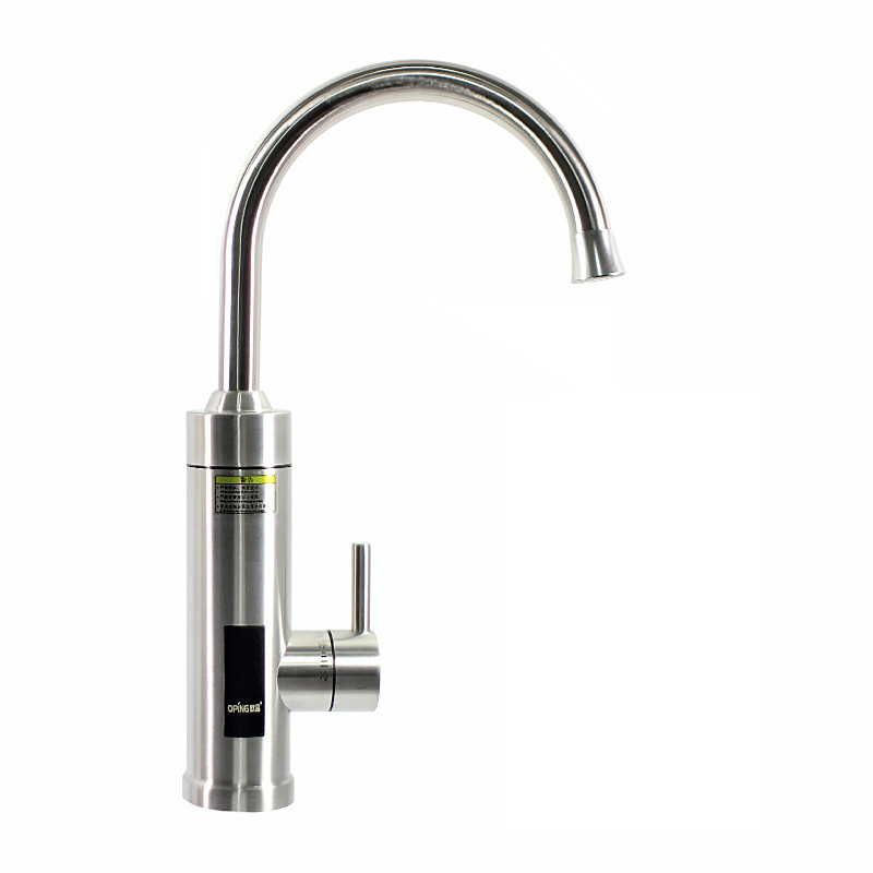 Кран-водонагрівач Oping OP-K1 з нержавіючої сталі з дисплеєм 3000 Вт 220В (3678-11613)