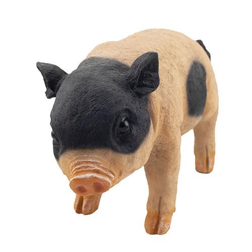"""Садова фігура Decoline """"Свинка маленька плямиста"""" (полістоун) F0202(P)"""