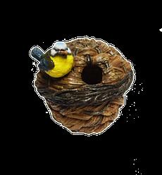 Кормушка для птиц Decoline Птичья хата (полистоун) KP2221(P)