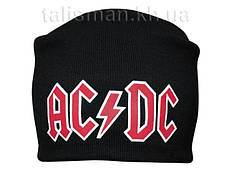 AC/DC -2 - шапка-бини - вязанная с накаткой