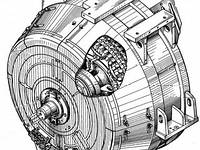 Тяговый синхронный генератор ГС-501А, 1ТХ.239.008,  БИЛТ.528754.003