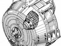 Тяговый синхронный генератор ГС-501А, 1ТХ.239.008,  БИЛТ.528754.003, фото 1