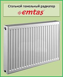 Стальной радиатор  Emtas 22k 500*1000 б.п.