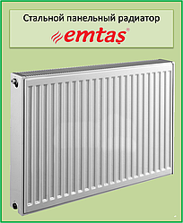 Стальной радиатор  Emtas 22k 500*1200 б.п.