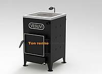Котел твердотопливный VESUVI 12 кВт с варочной плитой