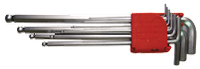 Набор ключей шестигранных с шаром 1,5-10 мм (10 шт.) удлиненных