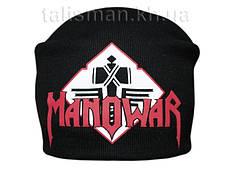 MANOWAR - шапка-бини - вязанная с накаткой