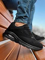 Мужские кроссовки весенние черные