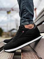 Мужские кроссовки весенние черно-белые в стиле Reebok