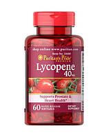 Вітаміни і мінерали Puritans Pride Lycopene 40 мг 60 гель.капс