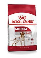 Корм Royal Canin Medium Adult, для собак середніх порід з 12 місяців до 7 років, 4 кг