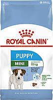 Корм Royal Canin Mini Puppy, для щенков малых пород с 2 до 10 месяцев, 0,8кг