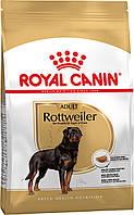 Корм Royal Canin Rottweiler Adult, для Ротвейлеров от 18 месяцев, 12кг