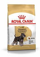Корм Royal Canin Miniature Schnauzer Adult, для Мініатюрного Шнауцера, 7,5 кг
