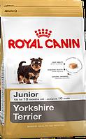 Корм Royal Canin Yorkshire Terrier Junior, для цуценят Йоркширського тер'єра, 7,5 кг 39720751