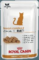 Консервы Royal Canin Senior Consult Stage 1 WET, для кошек от 7 лет, упаковка 12шт х100г