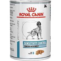 Консервы Royal Canin Sensitivity Control, при пищевой аллергии, 420г 40260041