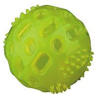 М'яч термопластрезина Trixie, що світиться, 6,5 см, 33643
