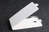 Чехол флип для Meizu MX4 белый